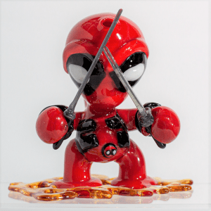 Dani Girl Glass Deadpool