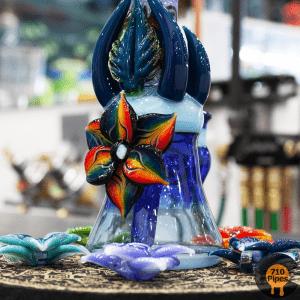Blossom Glass Full Color Rig (Light Blue)