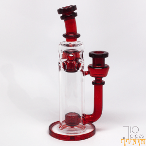 Red Tail Glass Fab Stack Red