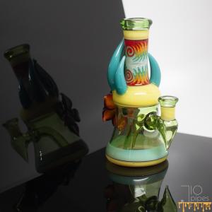 Blossom Glass Full Color Rig Green