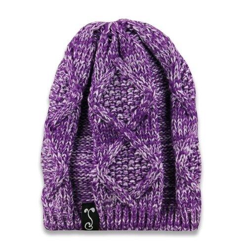 Grassroots' Purple Knit Beanie