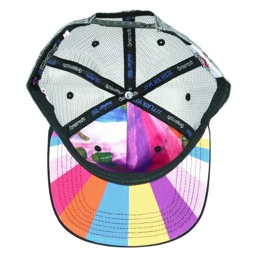Grassroots' Jerry Garcia Playa Vista Mesh Snapback Hat (From Below)